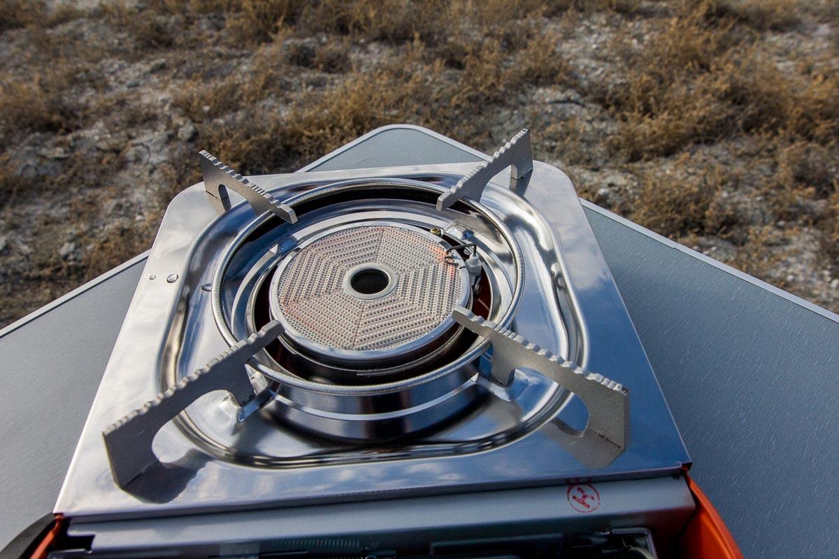 Походная плита Tourist Solaris (TS-700). Готовим в любых условиях, как дома © Техномод
