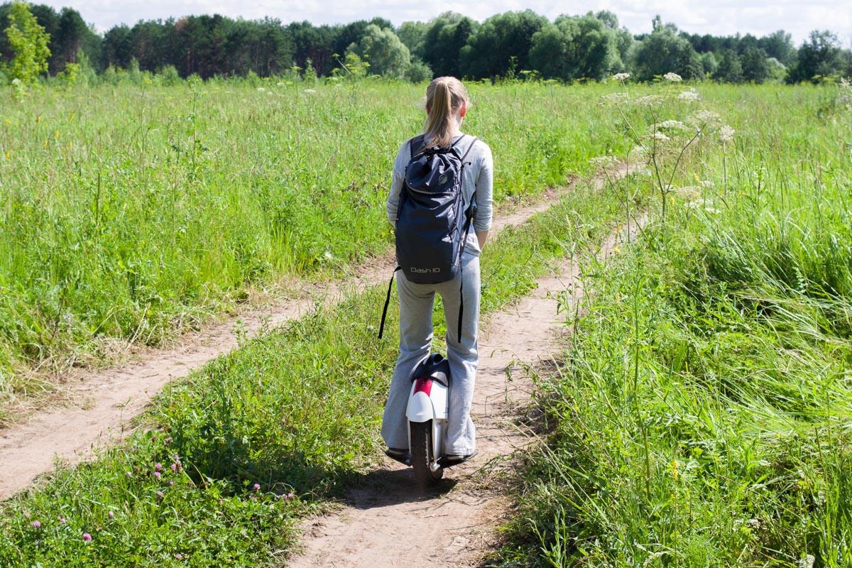 Моноколесо Solowheel Xtreme: первое знакомство, поездки по городу и пересеченной местности © Техномод