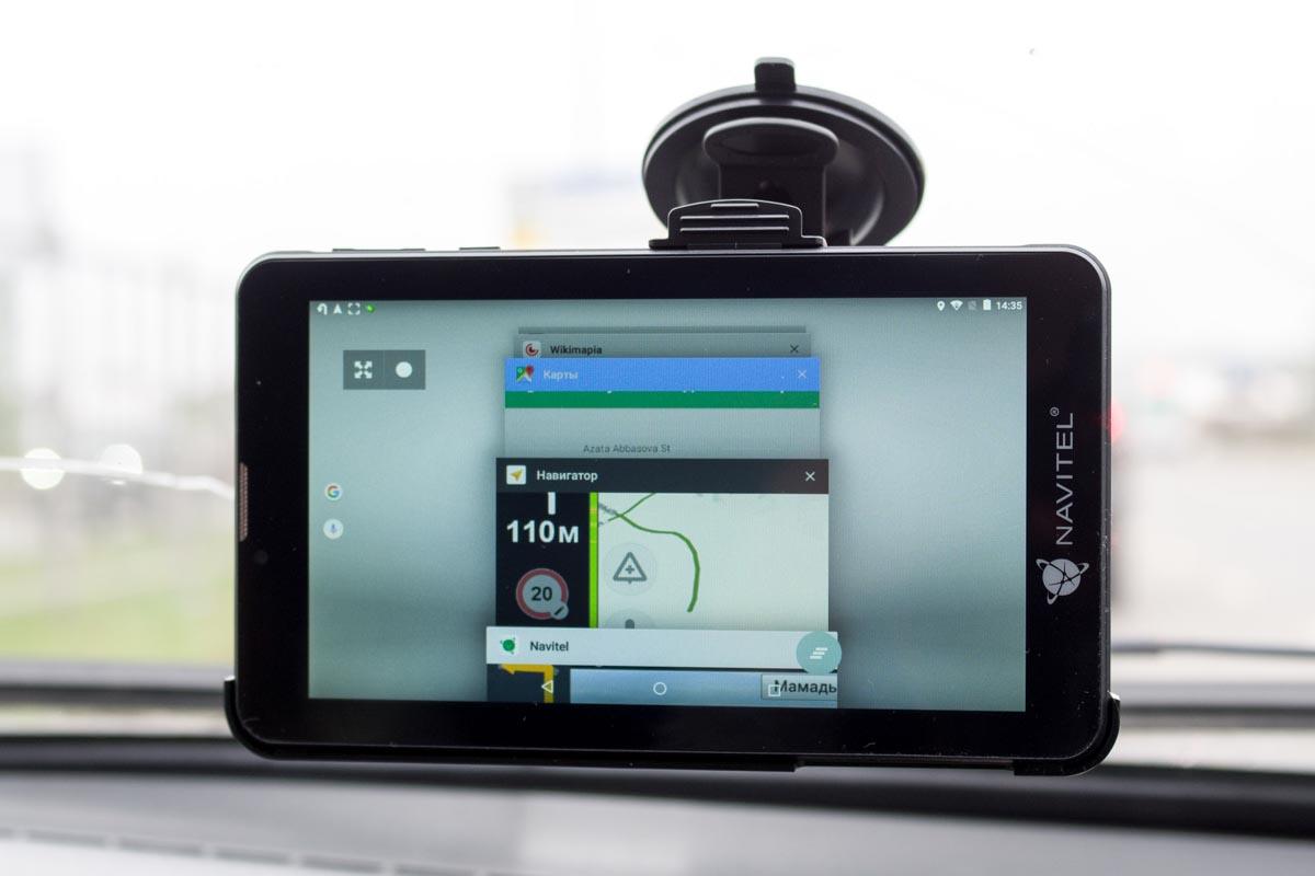 Мультинавигатор Navitel T700 3G. Все приложения для поездок в одном устройстве © Техномод