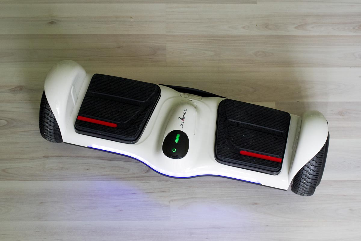 Испытываем простой и легкий гироскутер Solowheel Hovertrax B2 © Техномод