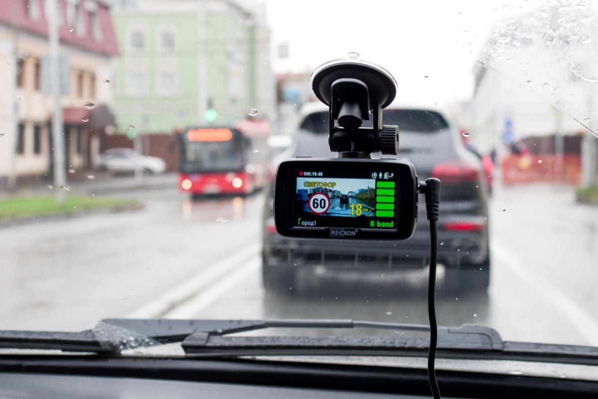 Испытываем комбо-устройство Recxon Ultra Red GPS/ГЛОНАСС © Техномод
