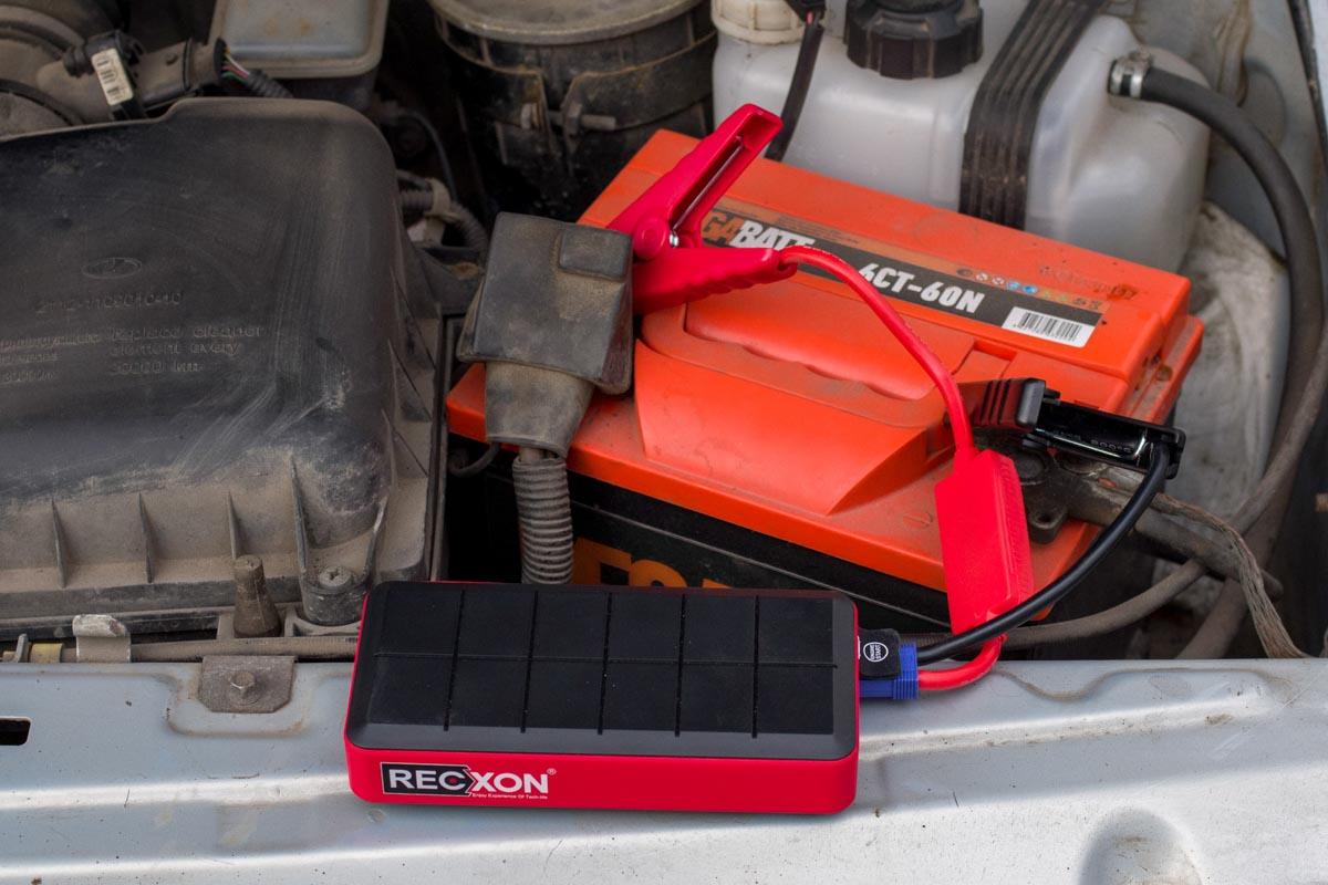 Готовимся к морозам: пуско-зарядное устройство для автомобиля Recxon JS-01 © Техномод