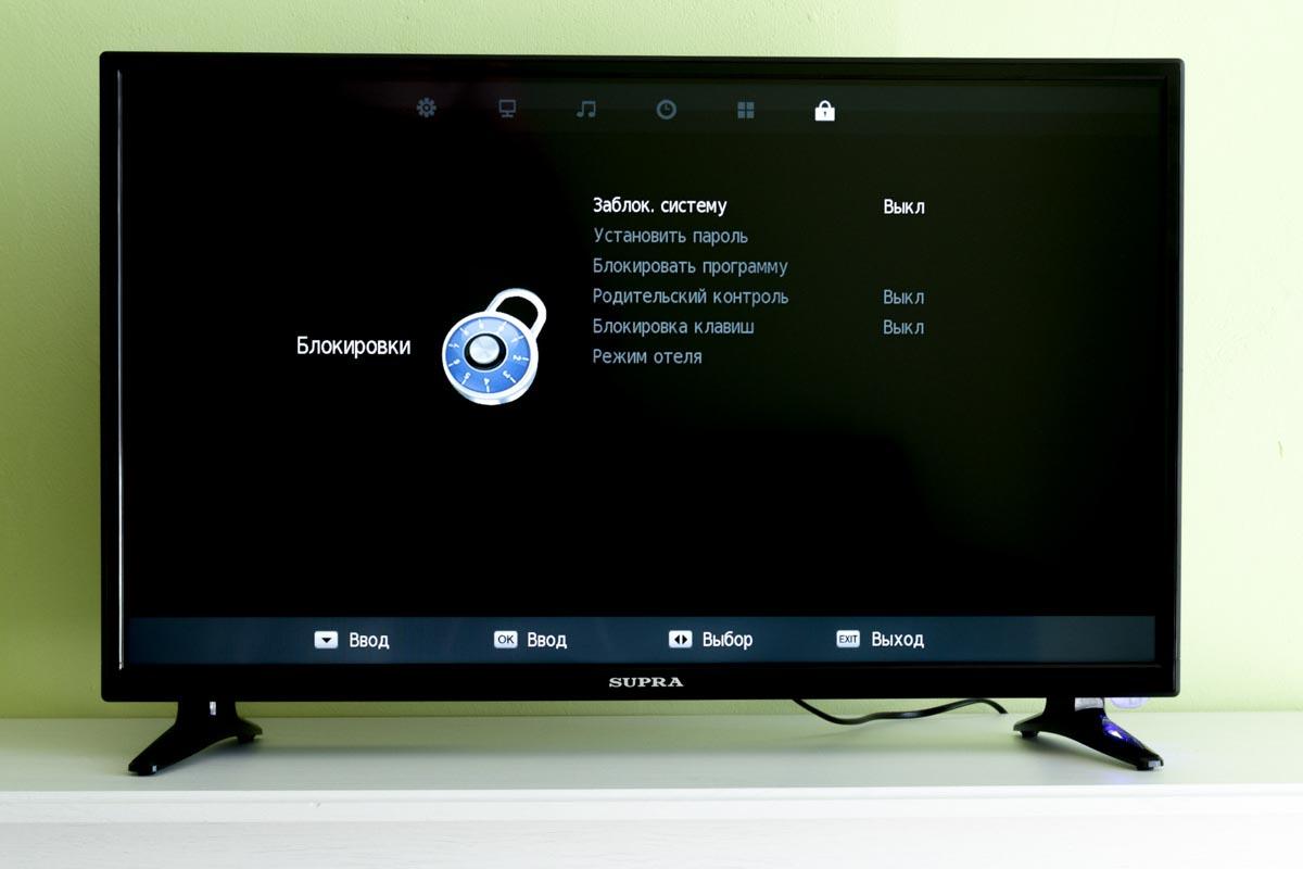 Сравниваем недорогие телевизоры с диагональю экрана 32 дюйма: BBK 32LEM-1026/TS2C, Erisson 32LES16, Supra STV-LC32T740WL, Telefunken TF-LED32S43T2 и Thomson T32D16DH-01B © Техномод