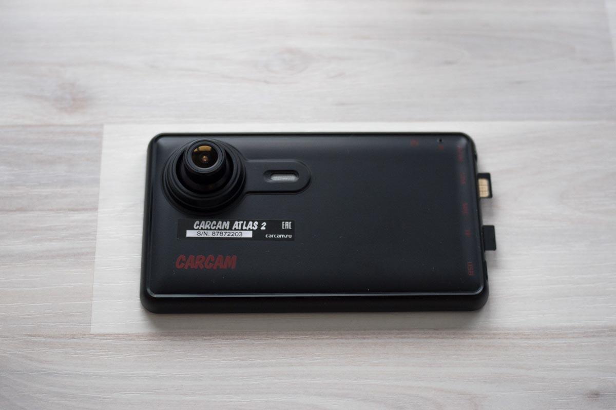 Изучаем автомобильный Full HD видеорегистратор со встроенным GPS-навигатором Carcam Atlas 2 © Техномод