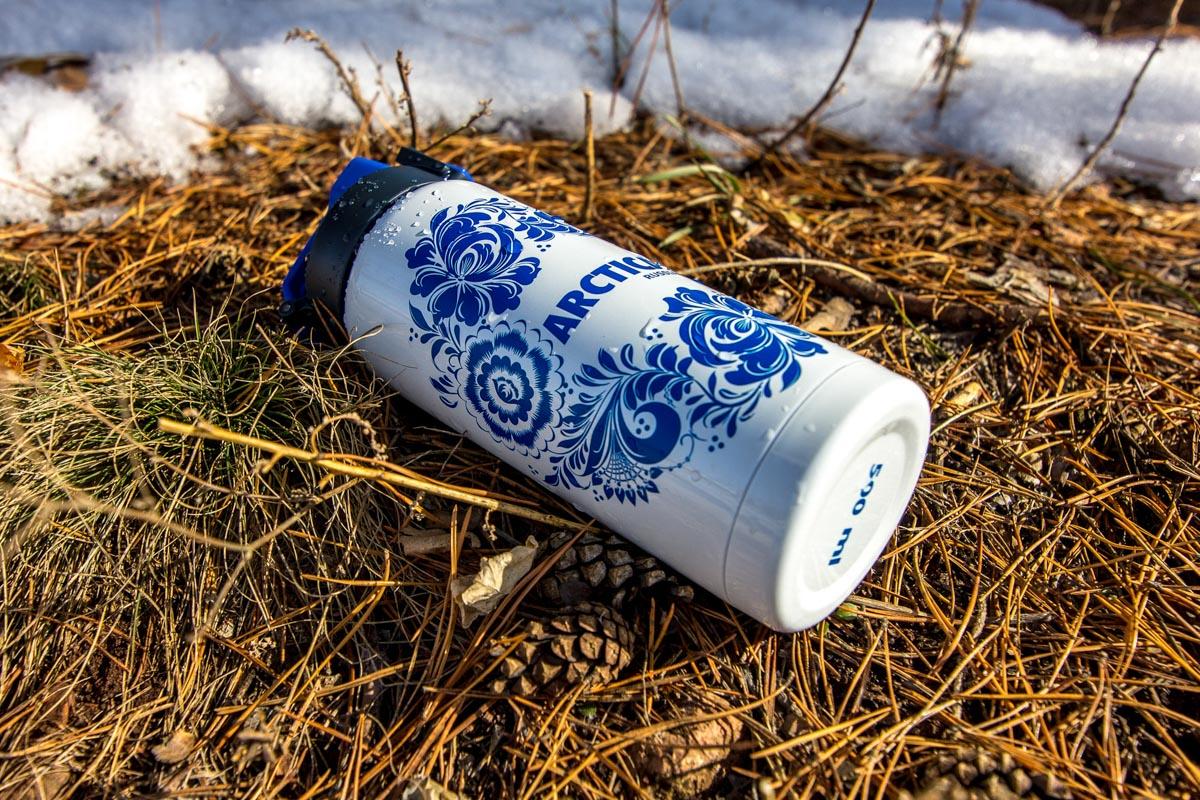 Обзор стильного термоса «Арктика» для напитков © Техномод