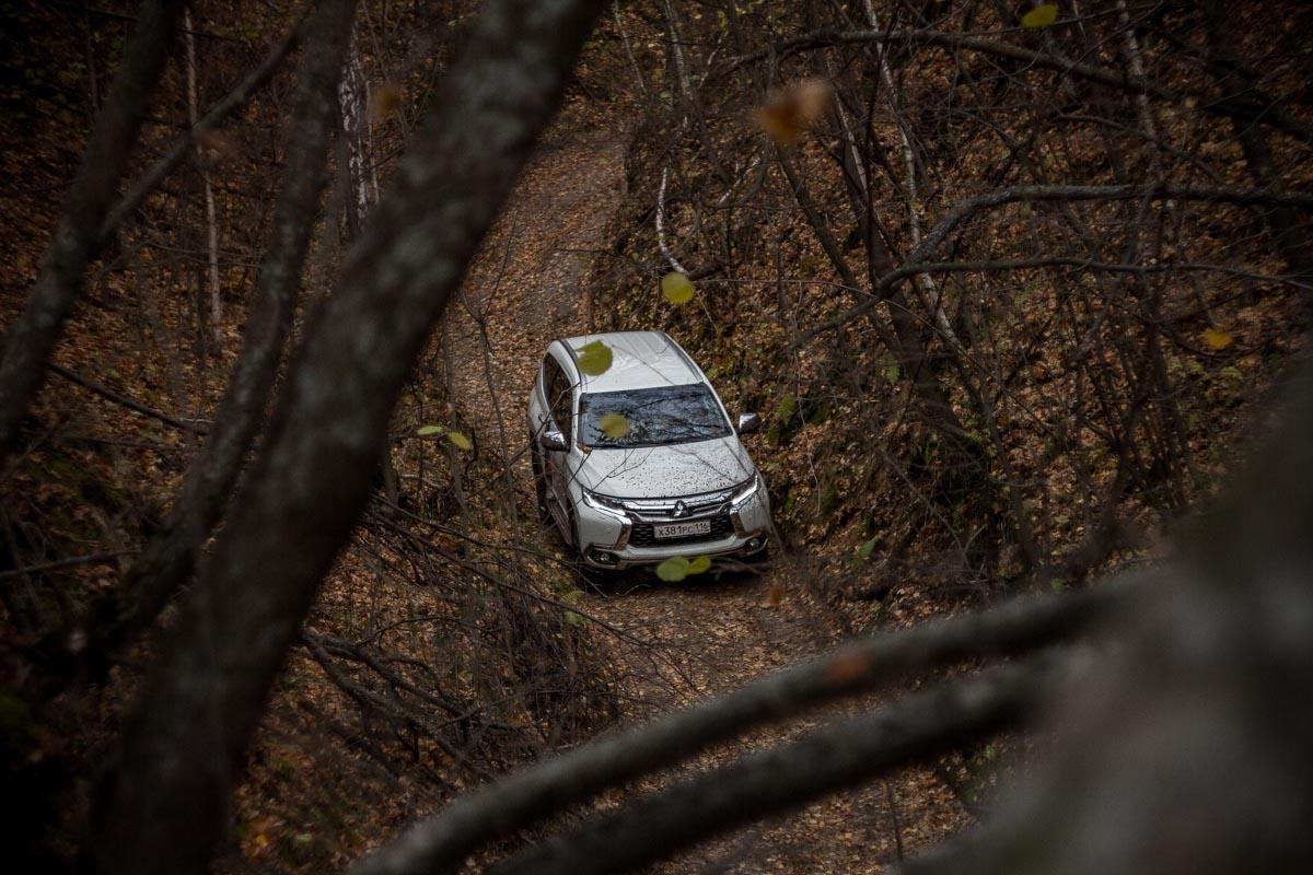 Mitsubishi Pajero Sport: внедорожник со спортивным характером © Техномод