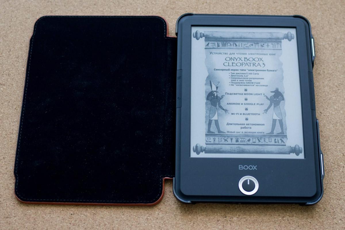 Обзор электронной книги ONYX BOOX Cleopatra 3 © Техномод