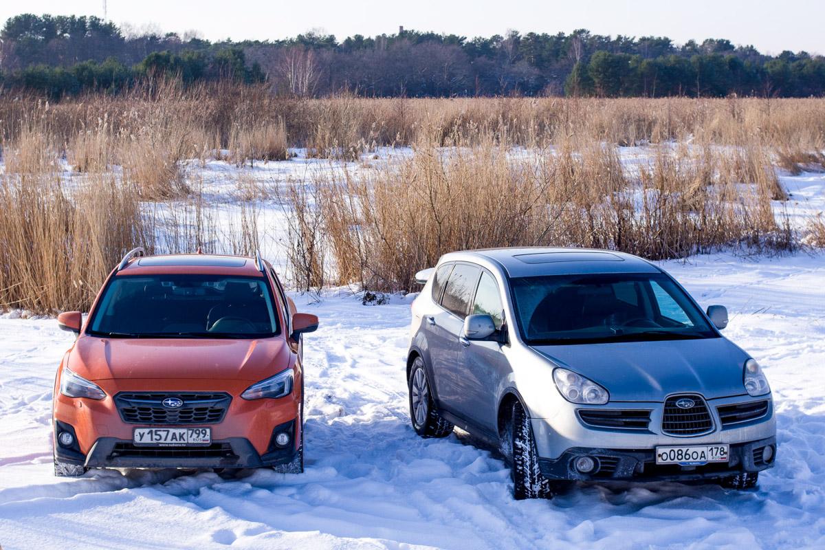 Обзор нового Subaru XV: Путешествие из Москвы в Санкт-Петербург © Техномод