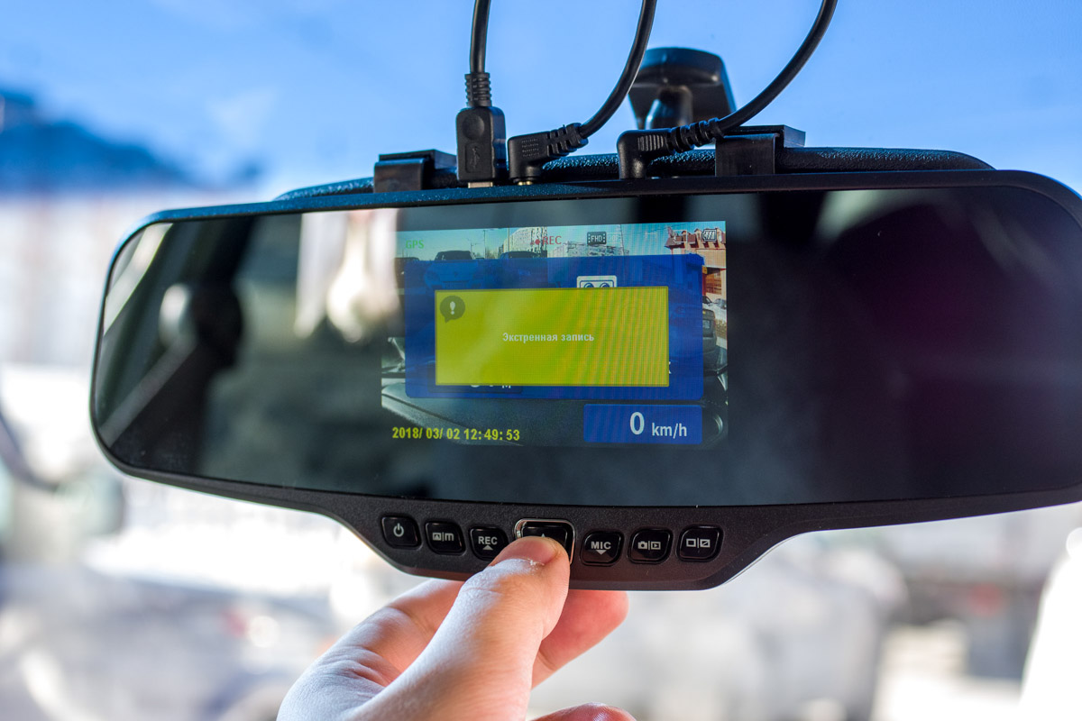 Обзор автомобильного зеркала Neoline G-Tech X27 с видеорегистратором и GPS-базой радаров © Техномод