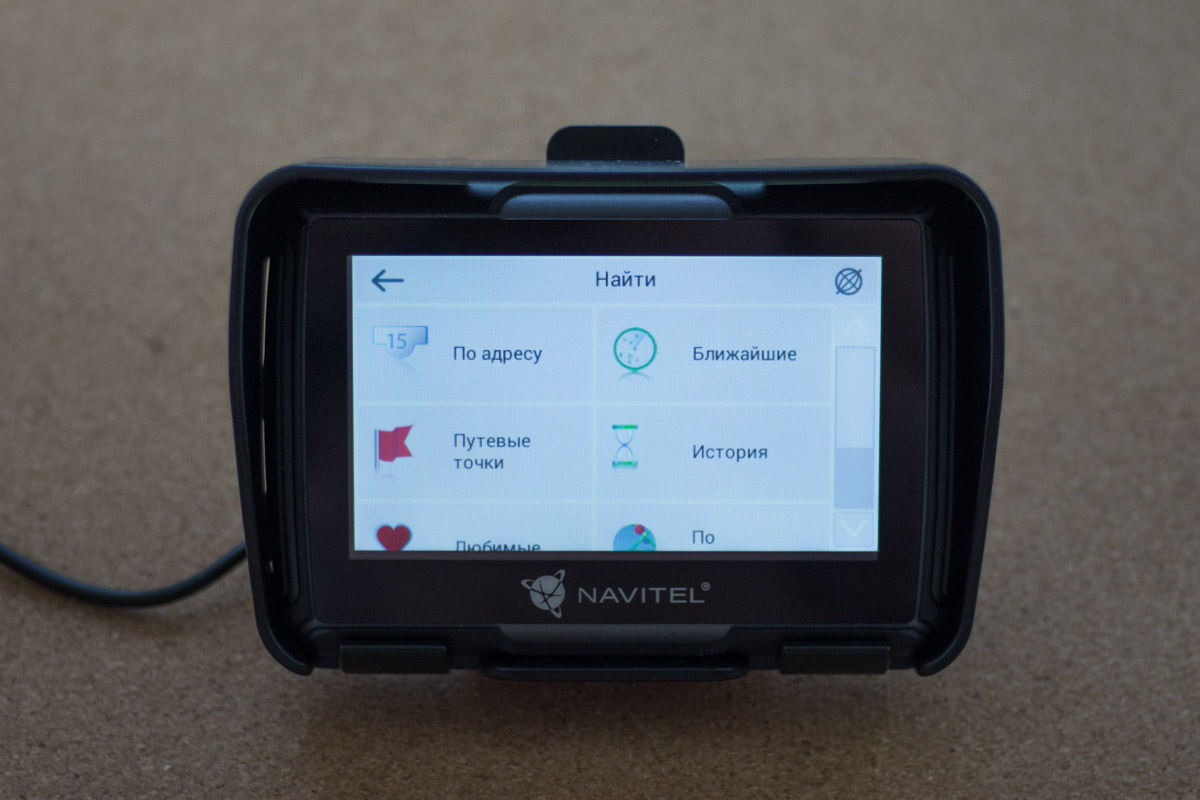 Обзор навигатора для мотоциклов Navitel G550 Moto © Техномод