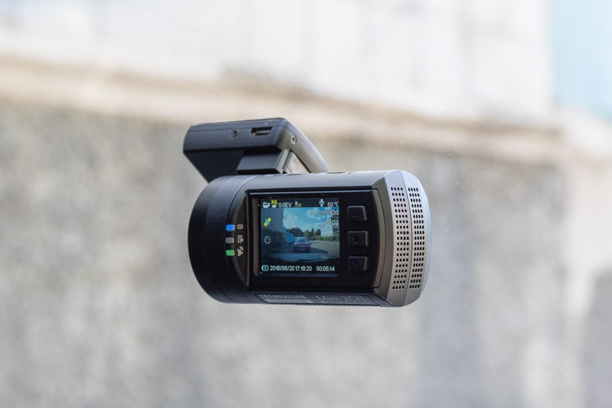 Автомобильный видеорегистратор нового поколения TrendVision Mini 2CH GPS © Техномод