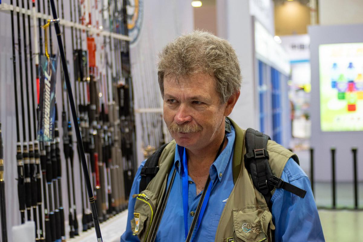 Чемпион мира по рыбной ловле Константин Кузьмин © Техномод