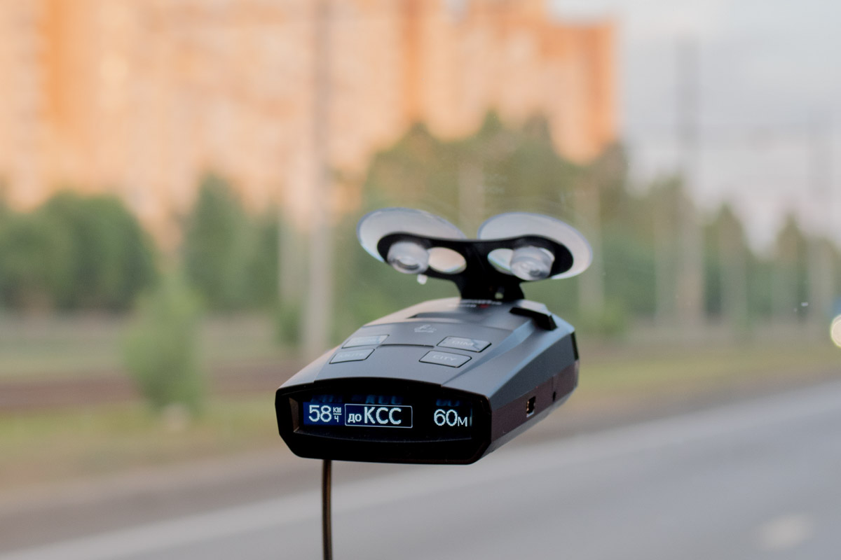 Изучаем новый радар-детектор SilverStone F1 Sochi Z с фильтром Z-сигнатур © Техномод