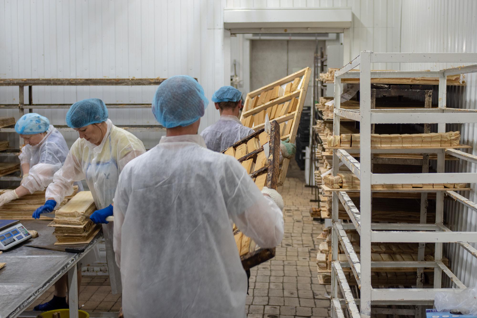 Как делают легендарную Белёвскую пастилу. Экскурсия на завод в Белёве © Техномод