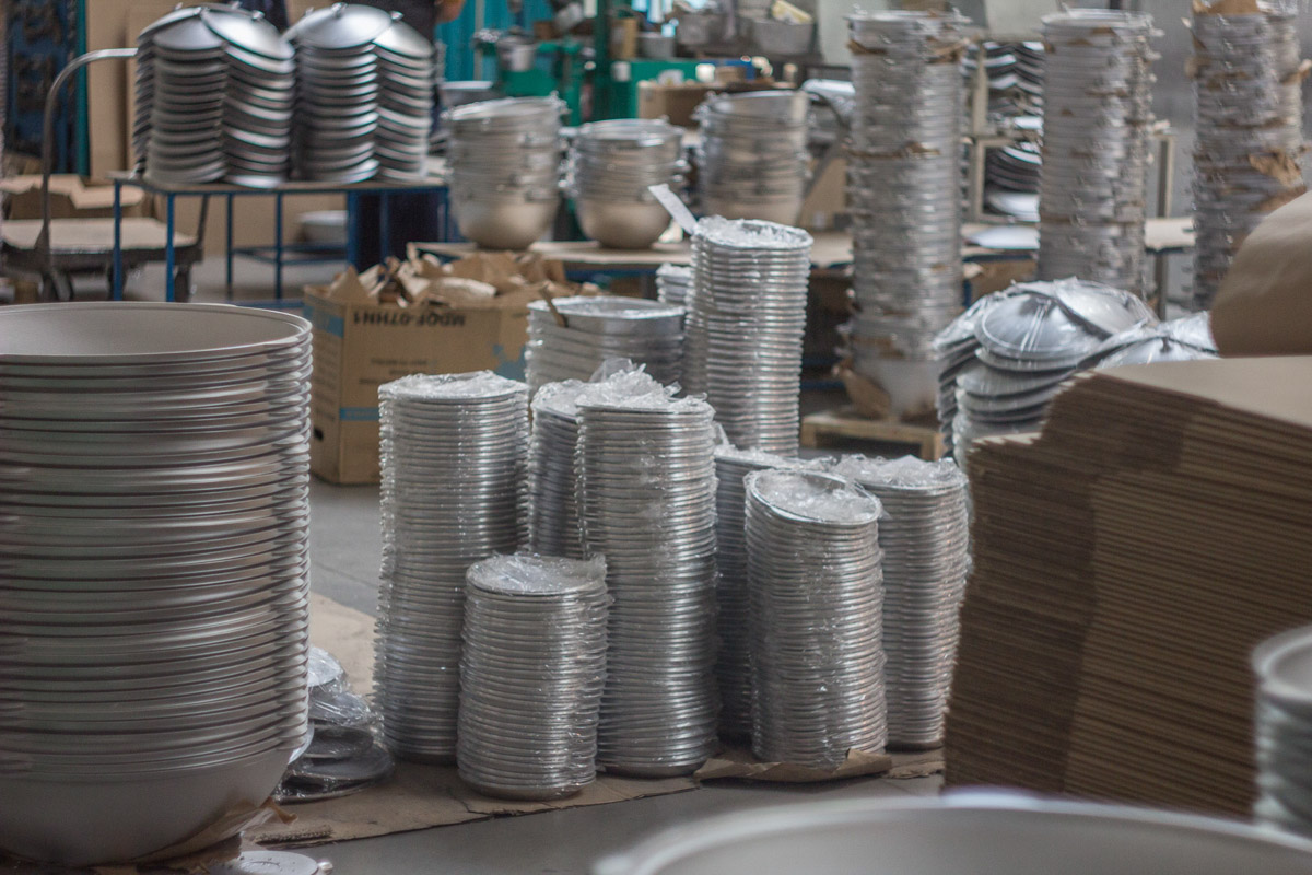 At Kukmara factory. Report from famous cookware production of Tatarstan © Technomode media