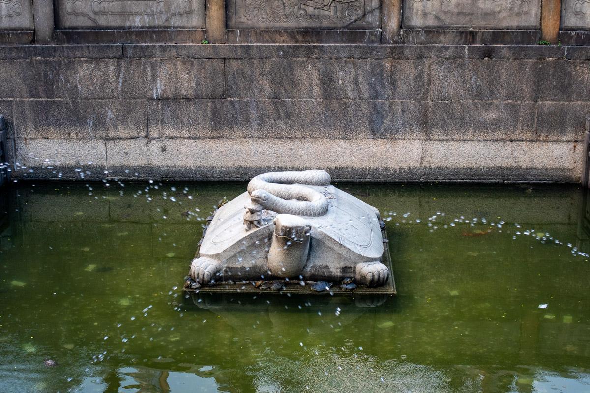 Храм предков в провинции Китая: религия, культура и кунг-фу © Техномод