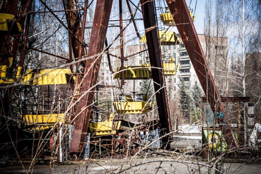 Путешествие в Зону отчуждения Чернобыльской АЭС © Техномод