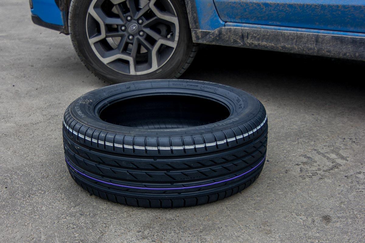 Испытываем безопасную RunFlat шину Nokian Hakka Black © Техномод