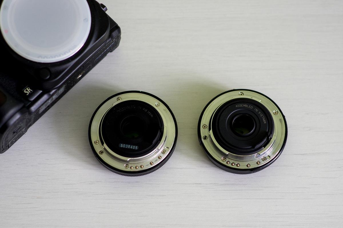 Сравниваем объективы Pentax DA 40 mm f/2.8 XS и DA 40 mm f/2.8 Limited HD © Техномод