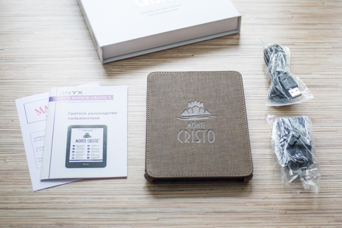Изучаем бестселлер среди электронных книг — Onyx Boox Monte Cristo 3 © Техномод