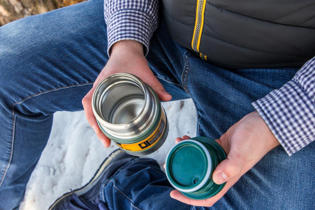 Испытываем термос с широким горлом Stanley Vacuum Food Jar © Техномод