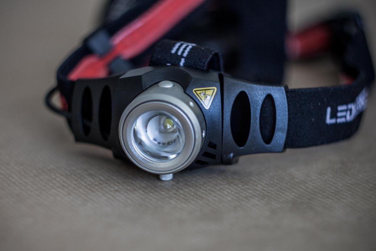 Тестируем профессиональный налобный фонарь LED LENSER H6 © Техномод