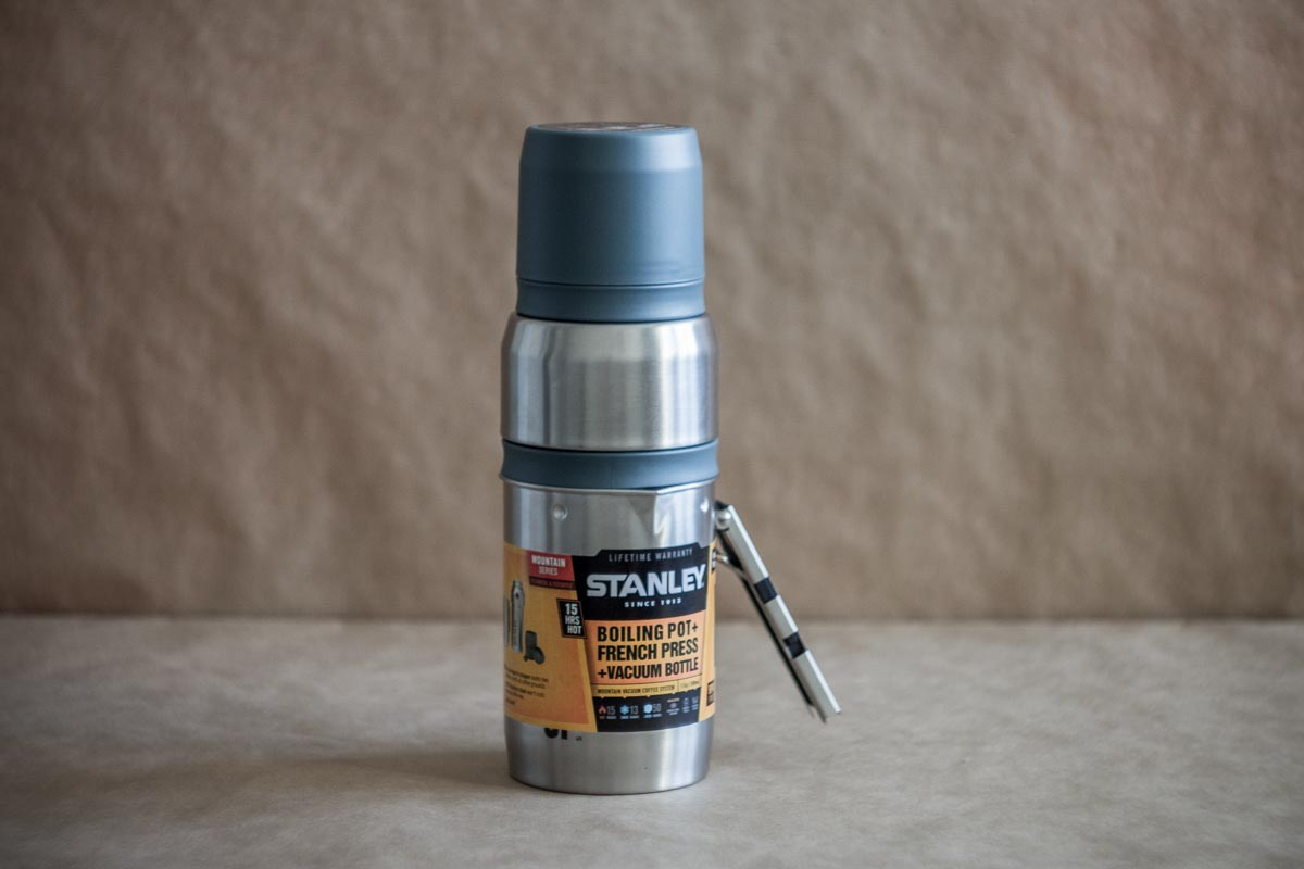 Тестируем походную кофейную систему Stanley Vacuum Coffee System 0.5L Stainless Steel © Техномод
