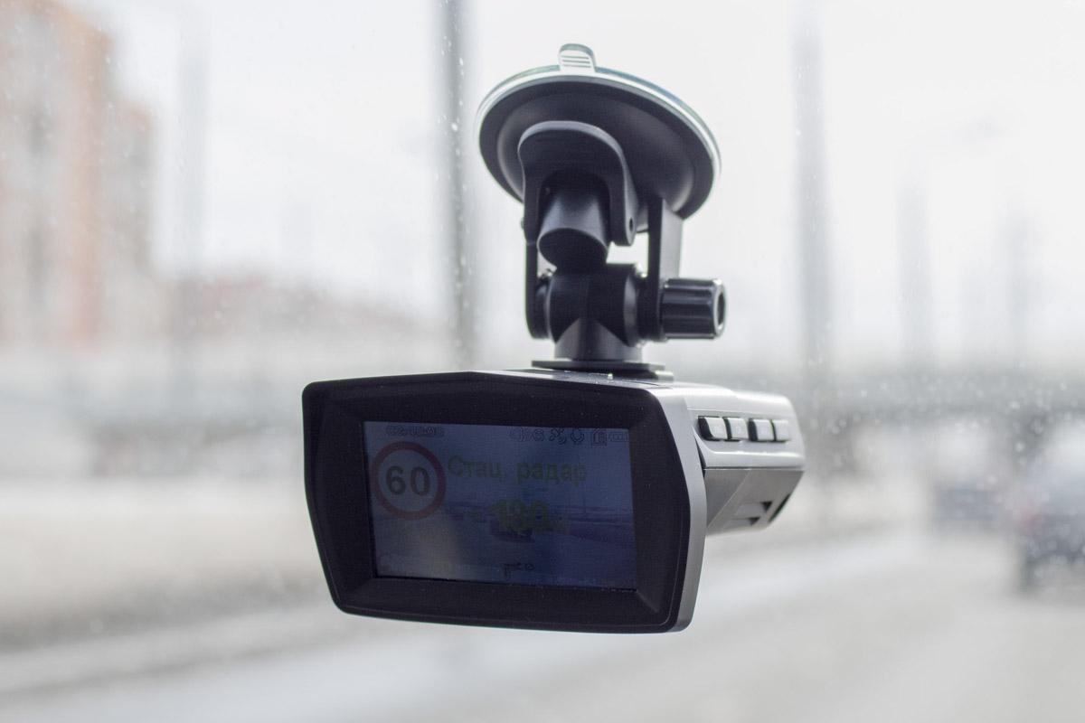 Обзор недорогого видеорегистратора с радар-детектором Stonelock Aco © Техномод