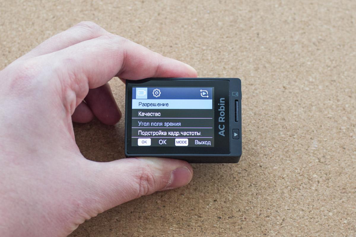 Тест экшн-камеры AC Robin Zed5 или прыжок в пропасть © Техномод