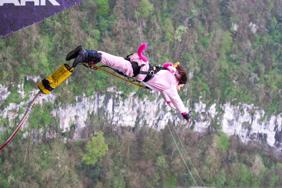 Скайпарк Эй Джей Хаккетт в Сочи или приключения на высоте © Техномод