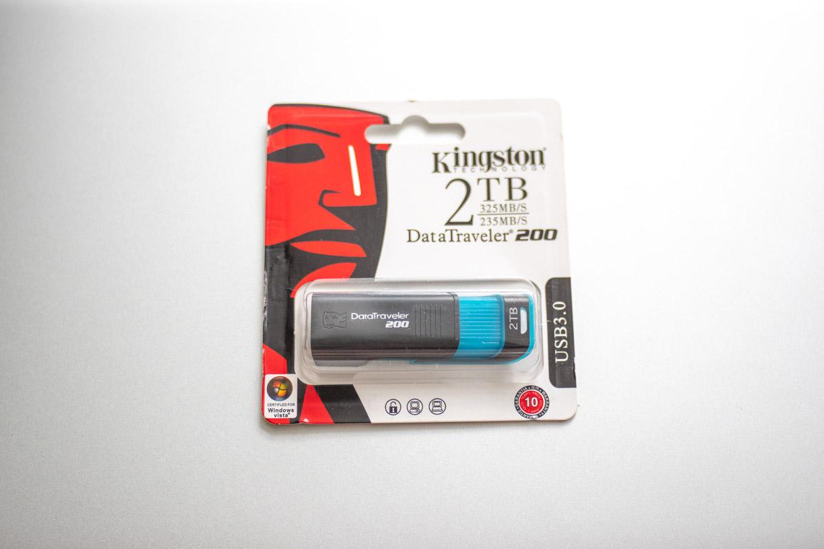 Тест флешки Kingston на 2 Тб с китайского рынка подделок © Техномод