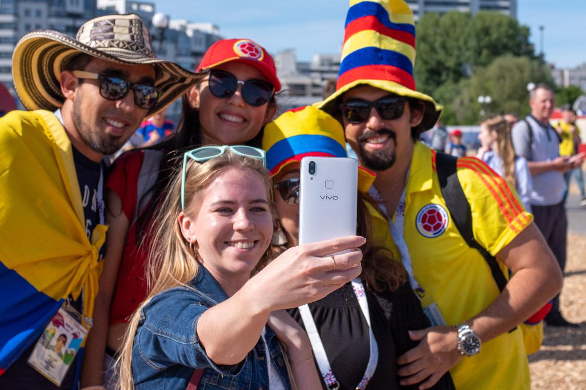 Смартфон Vivo X21: флагман от спонсора Чемпионата мира по футболу 2018 и 2022 © Техномод