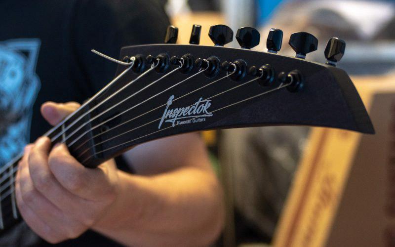 Как рождаются российские электрогитары Inspector Guitars © Техномод