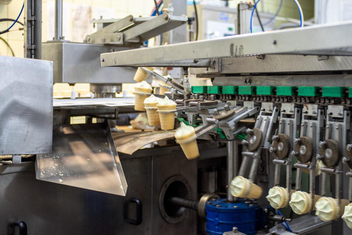 Как делают мороженое в России. Экскурсия на завод МариАйс в Йошкар-Оле © Техномод
