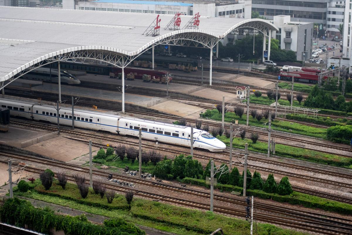 Современные китайские поезда © Техномод