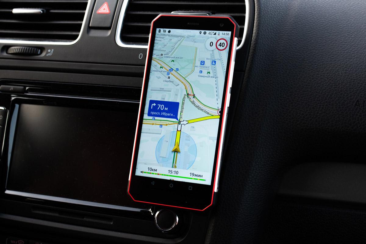 Подробный обзор и краш-тест защищенного смартфона Land Rover X © Техномод