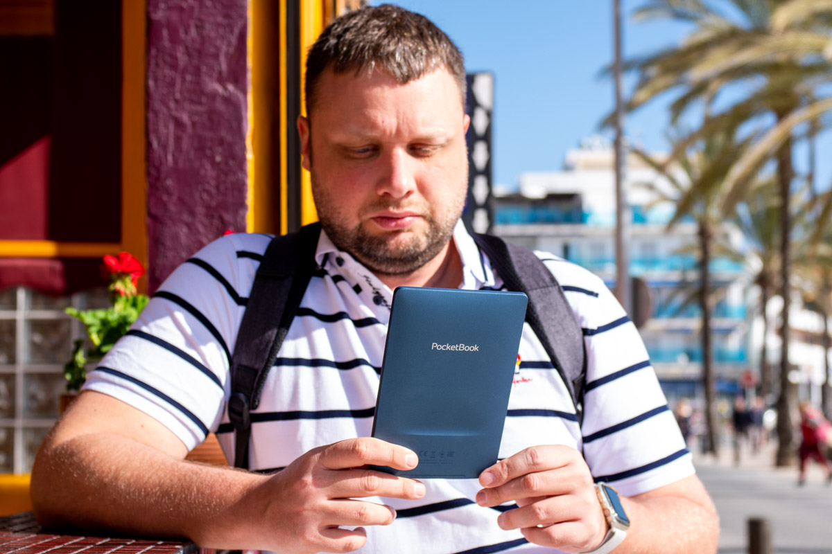 Обзор защищенного ридера PocketBook 641 Aqua 2 © Техномод