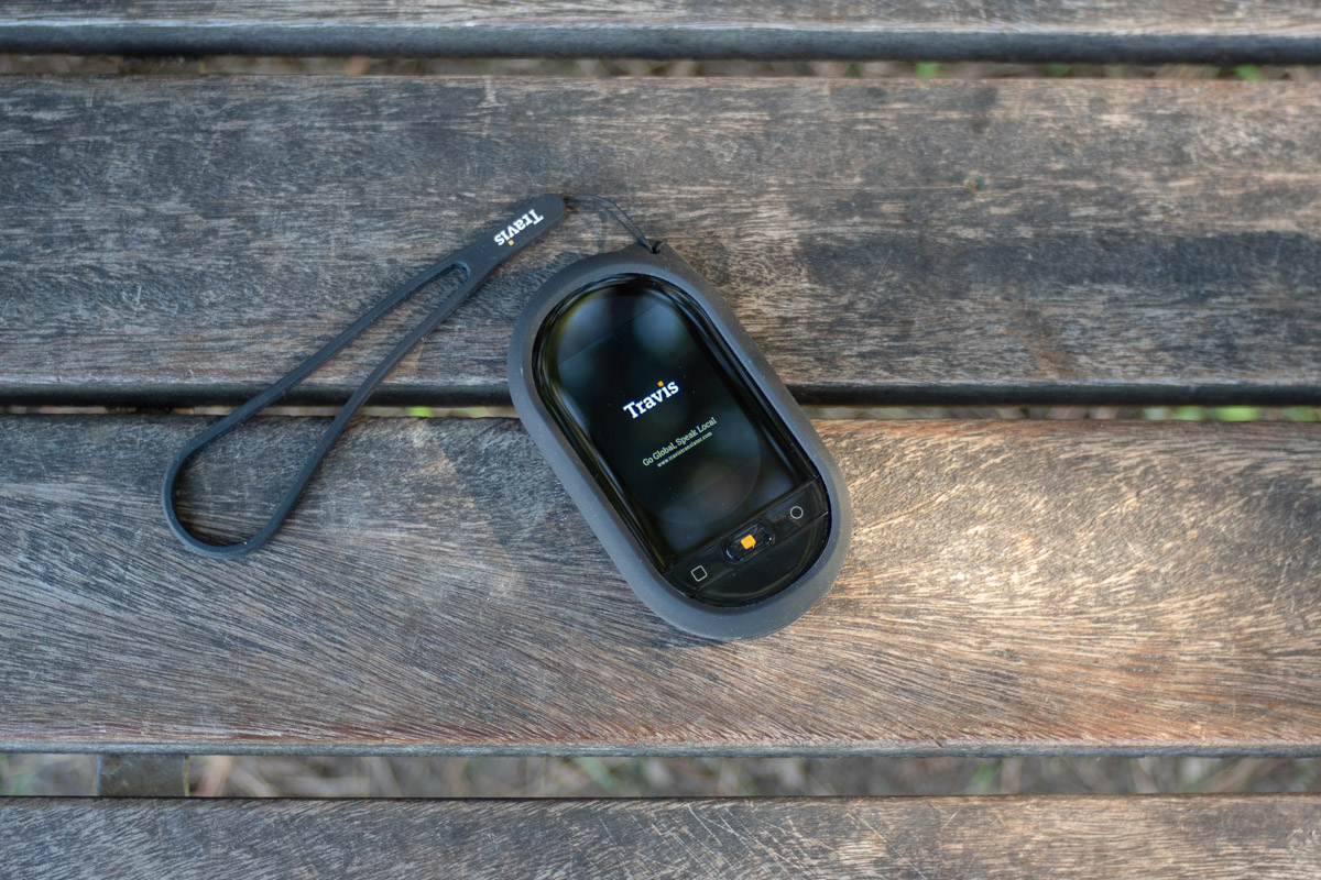 Review of Travis Touch Plus pocket translator, which raised more