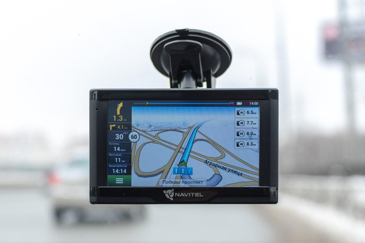 Обзор навигатора Navitel N500 Magnetic построенного на базе Linux © Техномод