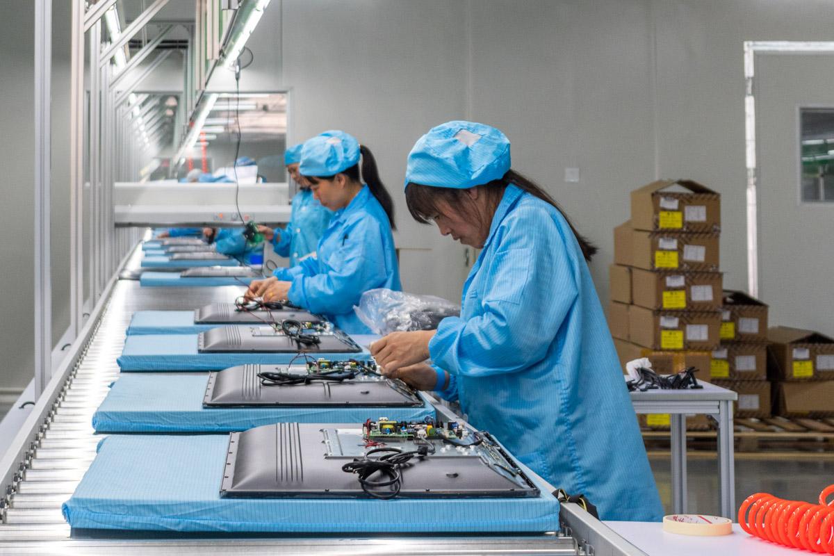 Как производят телевизоры в Китае. Экскурсия на фабрику Sansui (Bibang Group) © Техномод