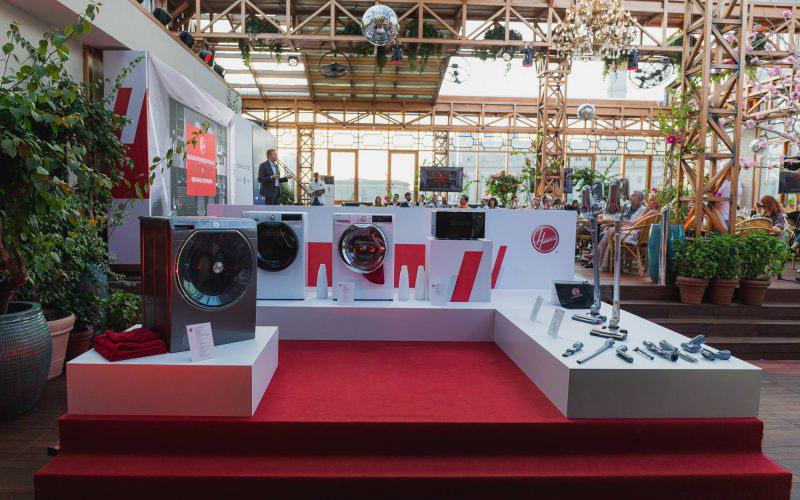 Презентация новых продуктов Hoover: говорящая стиралка AXI, пылесос считающий калории и многое другое © Техномод