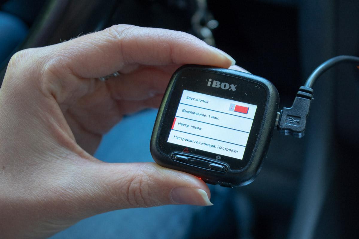 Обзор миниатюрного видеорегистратора iBOX Z-900 WiFi © Техномод