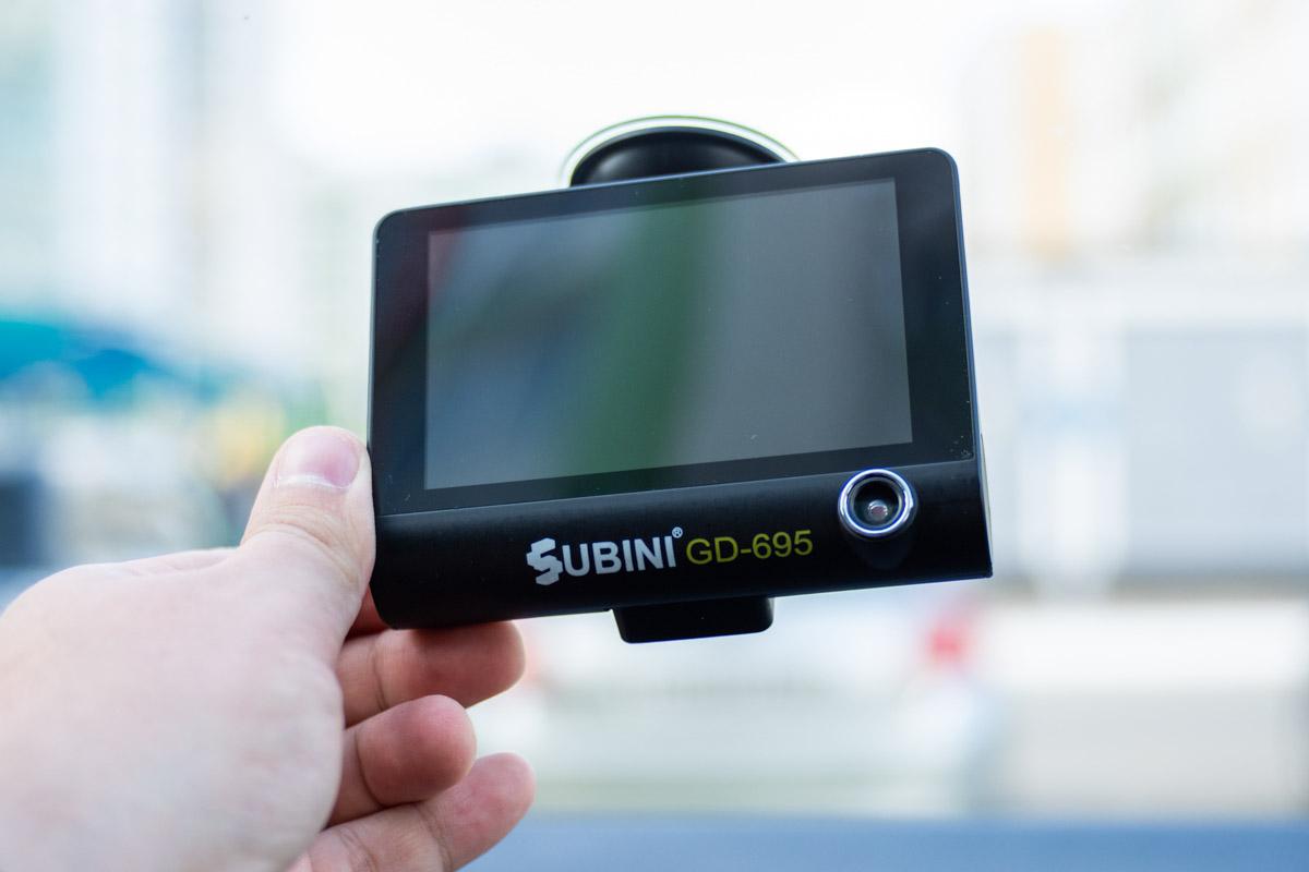 Обзор видеорегистратора с тремя камерами SUBINI GD-695RU © Техномод