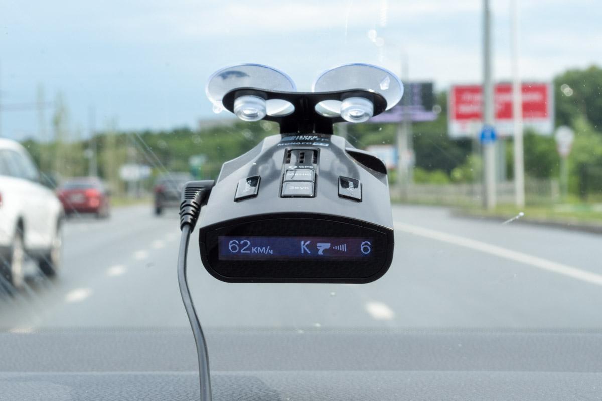 Обзор радар-детектора SilverStone F1 Monaco GS © Техномод