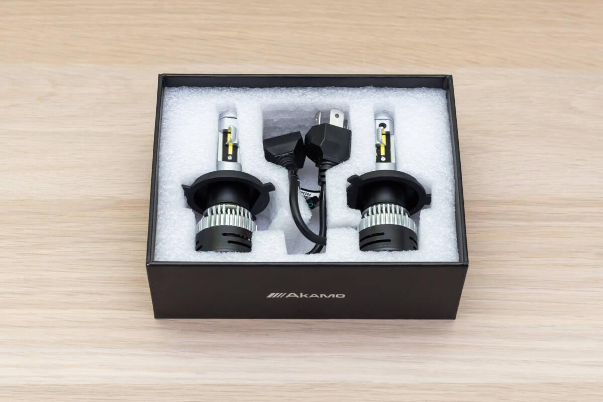 Корейские автомобильные светодиоды Akamo OE-V5H4 против штатных ламп © Техномод