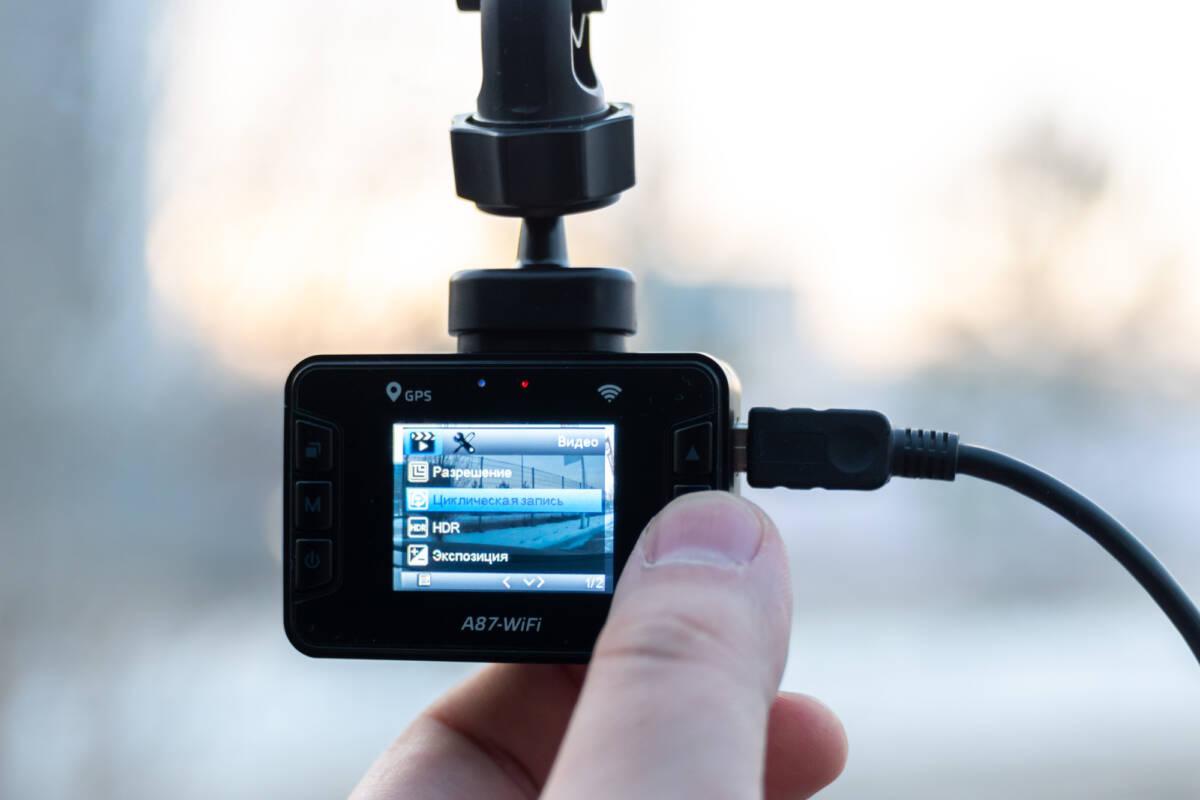 Обзор видеорегистратора SilverStone F1 CROD A87-WiFi © Техномод