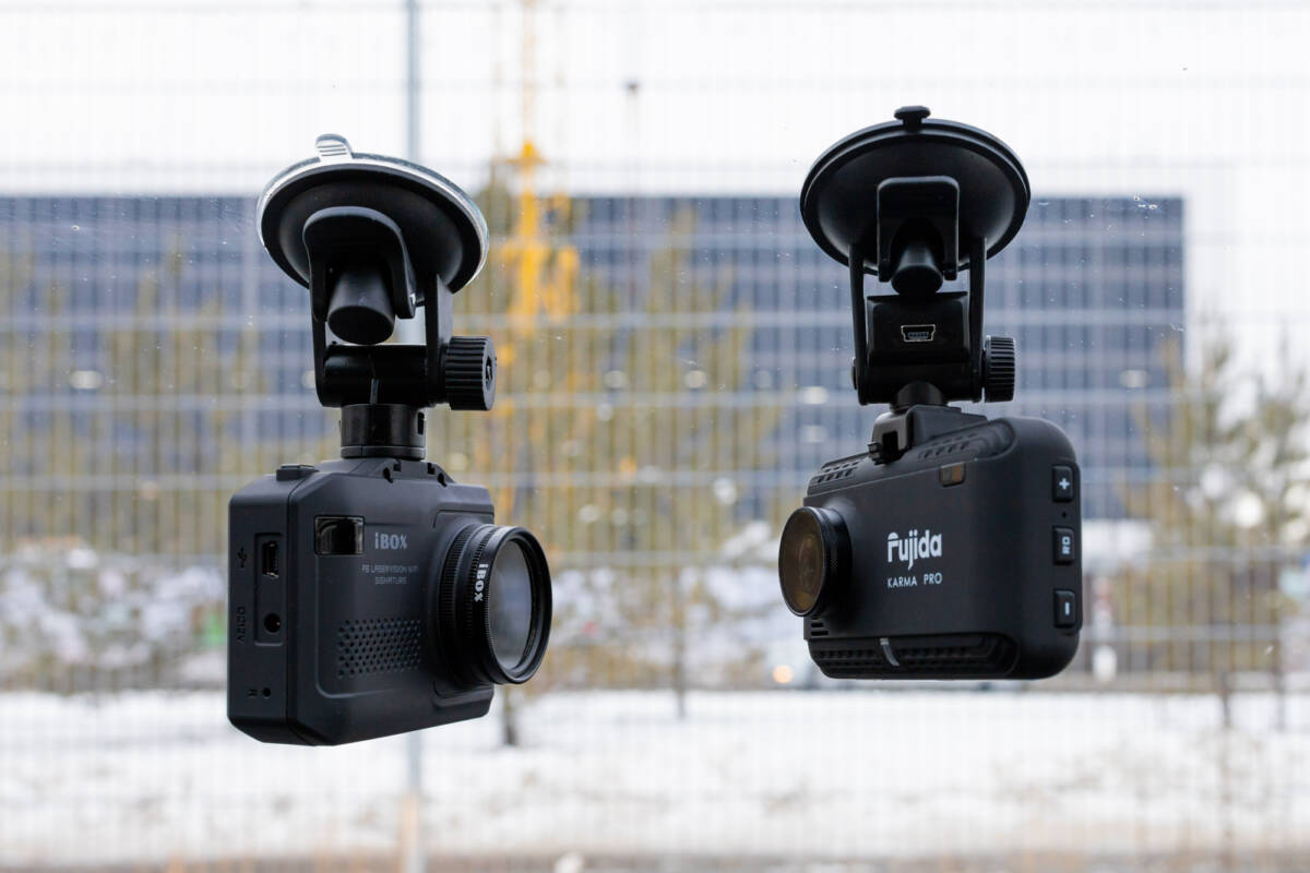 Сравниваем комбо-устройства iBOX F5 LASERVISION WIFI SIGNATURE и Fujida KARMA PRO WIFI © Техномод