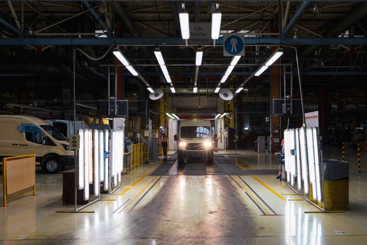 Как производят автомобили Ford Transit в России. Репортаж с завода в Татарстане © Техномод