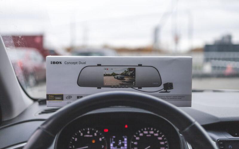 Обзор двухканального видеорегистратора iBOX Concept Dual © Техномод