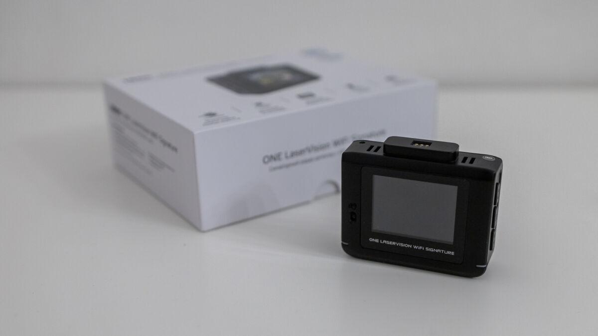 Распаковка и обзор сигнатурного радар-детектора iBOX ONE LaserVision WiFi Signature с обновлением по Wi-Fi © Техномод
